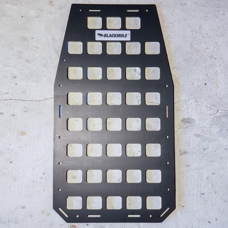 Несущая панель для сумки или рюкзака (3х8 ячеек), 23.5x43см