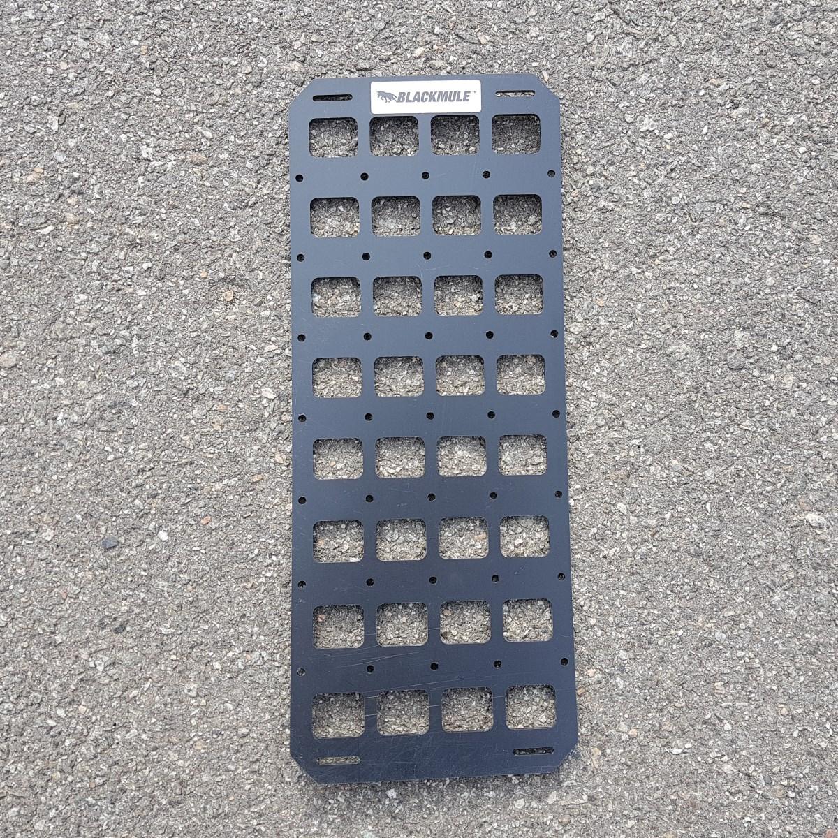 Несущая панель для сумки или рюкзака (4х8 ячеек), 17x43см