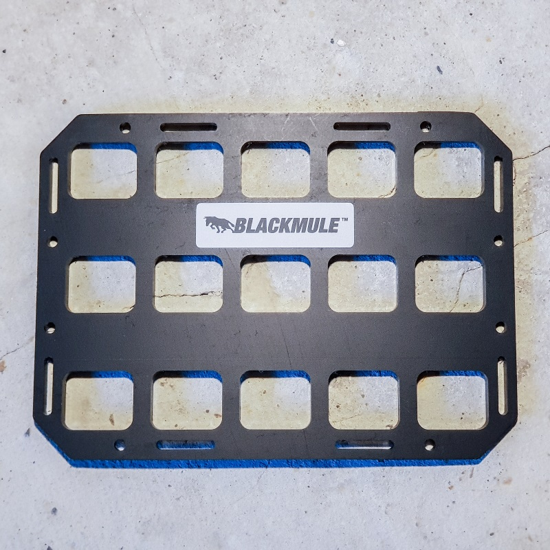 Несущая панель для сумки или рюкзака (5х3 ячеек), 21x15см