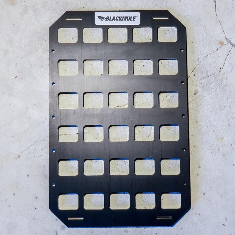 Несущая панель для сумки или рюкзака (5х6 ячеек), 21x33см