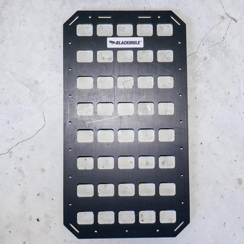 Несущая панель для сумки или рюкзака (5х8 ячеек), 23.5x43см