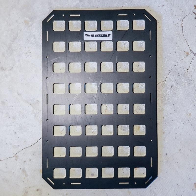 Несущая панель для сумки или рюкзака (6х8 ячеек), 27.5x43см