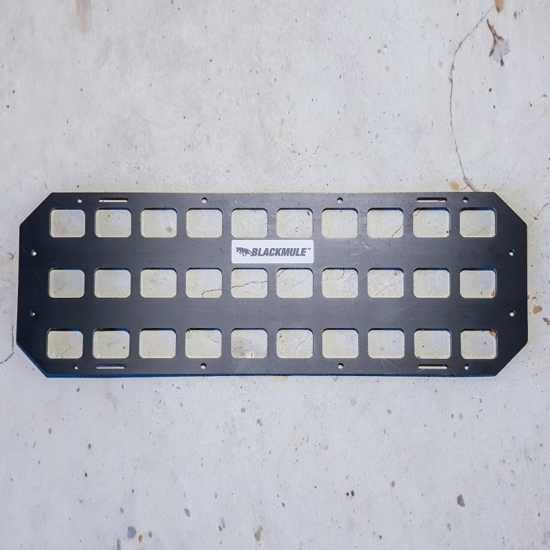 Несущая панель для сейфа (10х3 ячеек), 42.5x15см