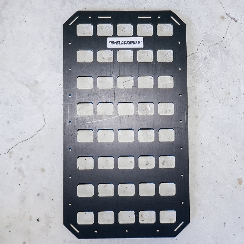 Несущая панель для багажника (5х8 ячеек) 23.5x43см