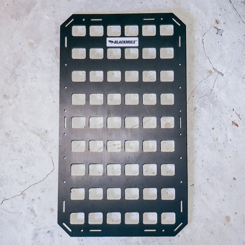 Несущая панель для багажника (6х9 ячеек), 27.5x48см