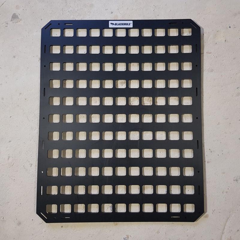 Несущая панель для сидения в комплекте с креплением (11х11 ячеек), 46.5x58.5см