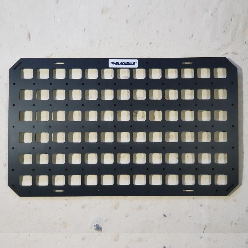 Несущая панель для сидения в комплекте с креплением (13х6 ячеек), 54.5x33см