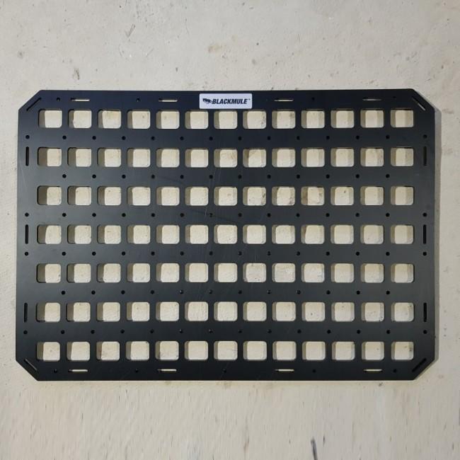 Несущая панель для сидения в комплекте с креплением (13х7 ячеек), 54.5x38см