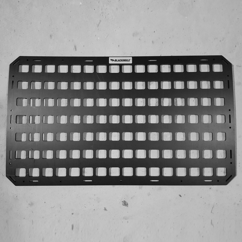 Несущая панель для сидения в комплекте с креплением (16х7 ячеек), 66x38см