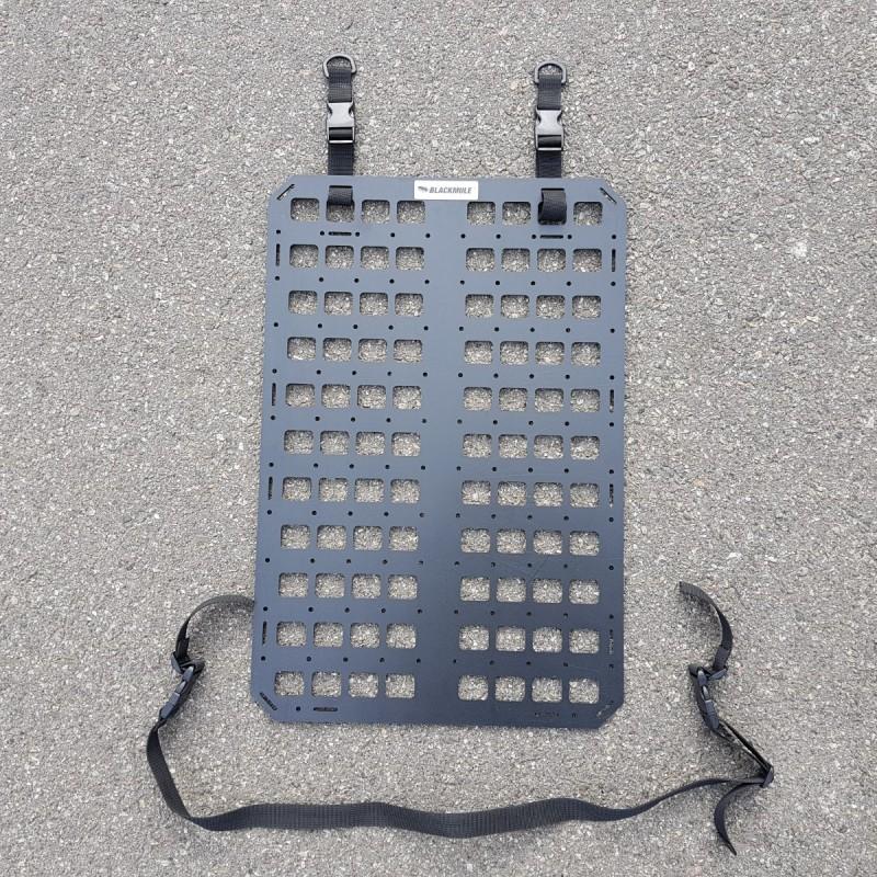 Несущая панель для сидения (8х11 ячеек), с креплением и отверстиями, 39x58.5см