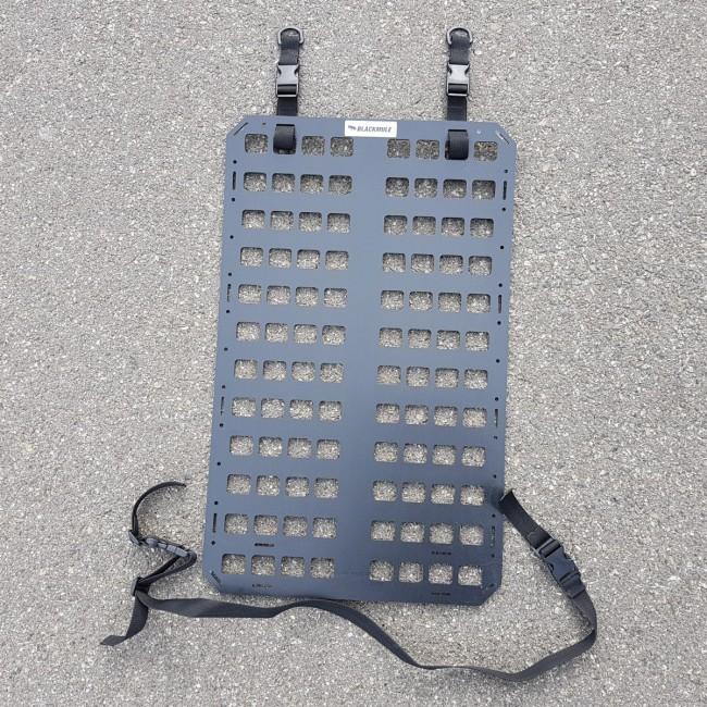 Несущая панель для сидения с креплением (8х12 ячеек), без отверстий, 39x64см