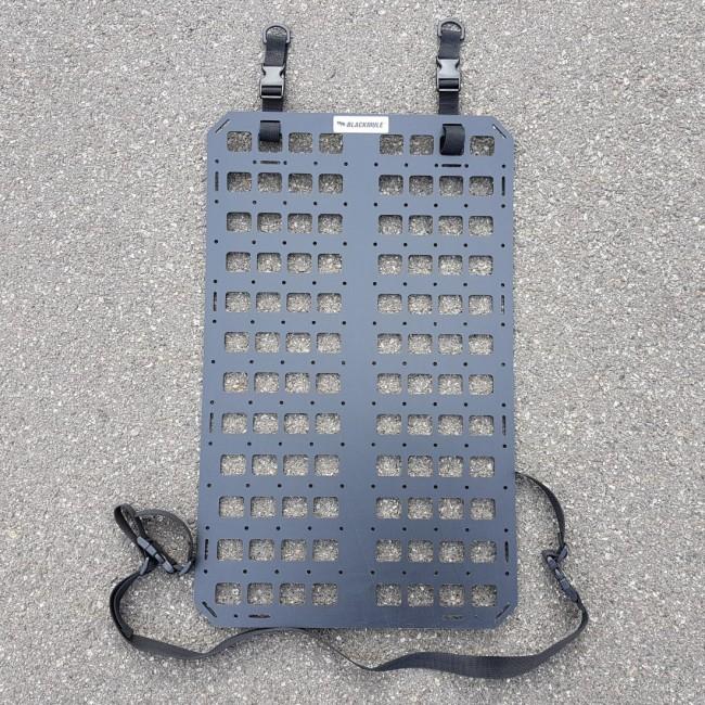 Несущая панель для сидения (8х12 ячеек), с креплением, с отверстиями, 39x64см
